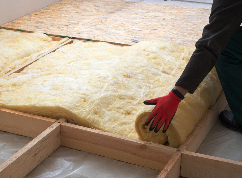 sheets of insulation